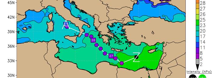 Έρχονται παγκύπριες βροχές/καταιγίδες - Η πρώτη οργανωμένη διαταραχή της σεζόν
