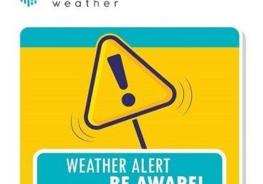 Κίτρινη προειδοποίηση από Kitasweather για τοπικά ισχυρές καταιγίδες σήμερα Παρασκευή