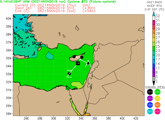 Τοπικές βροχές/καταιγίδες σταδιακά από τα δυτικά από απόψε - Γενίκευση των φαινομένων αύριο