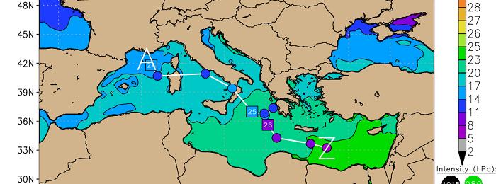 Χαμηλό βαρομετρικό από τον Ατλαντικό φέρνει βροχές/καταιγίδες αρχές της ερχόμενης εβδομάδας