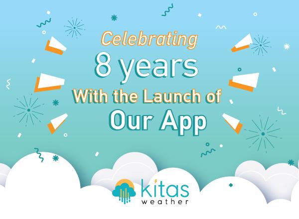 Έχουμε γενέθλια και κυκλοφορούμε το KitasWeather App!