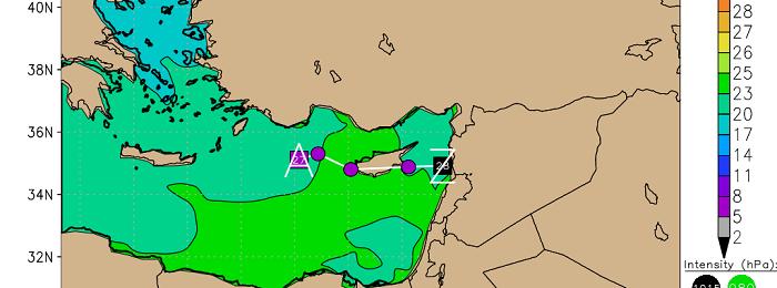 Μεταβολή του καιρού αύριο - Βροχές και καταιγίδες σταδιακά μετά το μεσημέρι