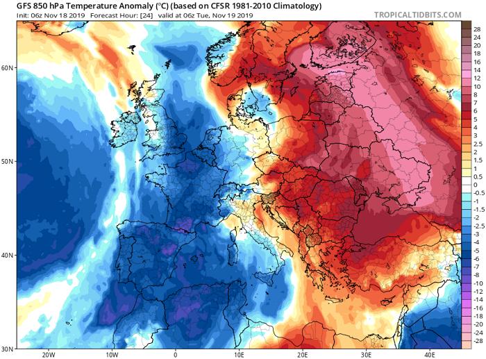 Συνεχίζει άνομβρος και αυτή την εβδομάδα ο Νοέμβριος - Μικρή πτώση θερμοκρασίας τέλος της εβδομάδας