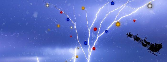 Λευκά Χριστούγεννα στο Τρόοδος - Βροχές, καταιγίδες και χαλάζι στην πρόγνωση