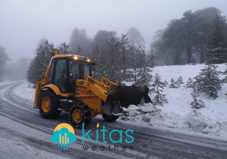 Καιρική ενημέρωση (11:30) - Τοπικές καταιγίδες και χιονοπτώσεις στα ορεινά