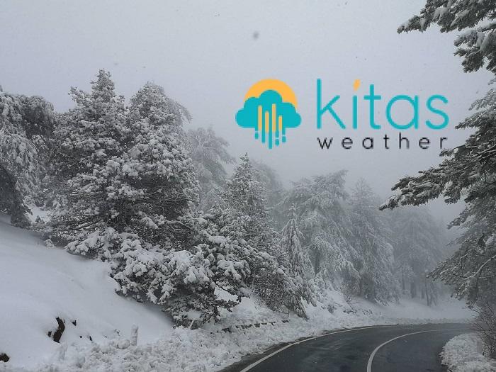 Κατάσταση οδικού δικτύου στο Τρόοδος και ύψος χιονιού - Ενημέρωση (09:41)