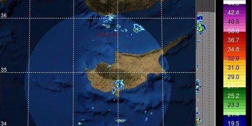 Τοπικές βροχές σε εξέλιξη αυτή την ώρα - Πρόγνωση για τις επόμενες ημέρες