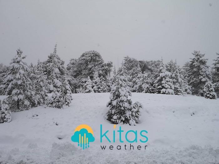 Βροχές/καταιγίδες, χαλάζι και βαριές χιονοπτώσεις κατά τη δεύτερη φάση του Κίμωνα