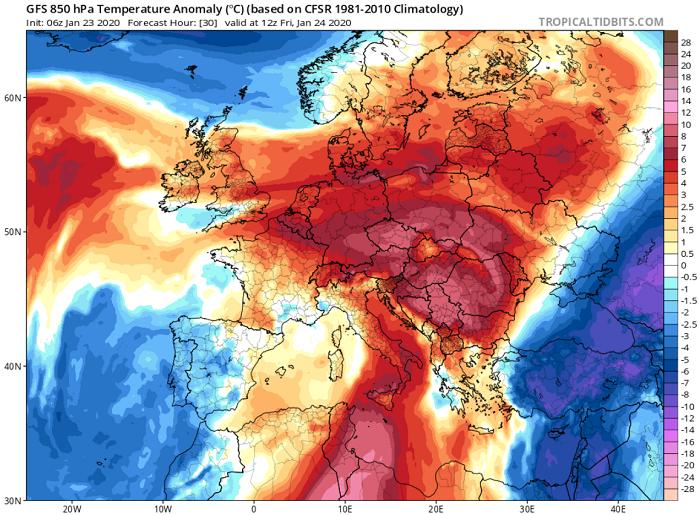 Πρόσκαιρη επιδείνωση του καιρού με κύριο χαρακτηριστικό τους ενισχυμένους ψυχρούς ανέμους