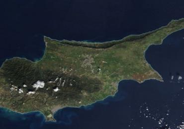 """Η Κύπρος από ψηλά μετά την """"Λυδία"""""""