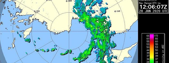 Βροχές/χιόνια και τοπικές καταιγίδες θα επηρεάζουν το νησί τις επόμενες ώρες
