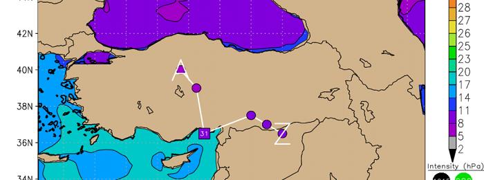 Πρόσκαιρη μεταβολή του καιρού με βροχές, τοπικές καταιγίδες, χιόνια και ενισχυμένους ανέμους