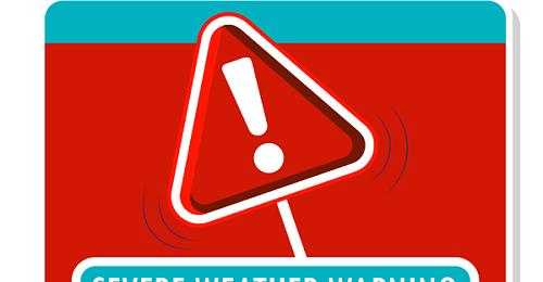 Κόκκινη προειδοποίηση σε ισχύ από Kitasweather