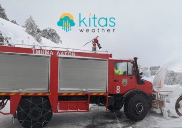 Κλειστοί όλοι οι δρόμοι που οδηγούν στο Τρόοδος λόγω ισχυρού παγετού