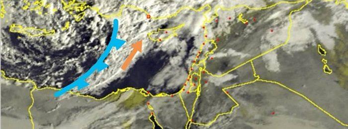 Σημαντική επιδείνωση του καιρού τις επόμενες ώρες - Πλησιάζει ο κύριος όγκος των βροχών από τα δυτικά