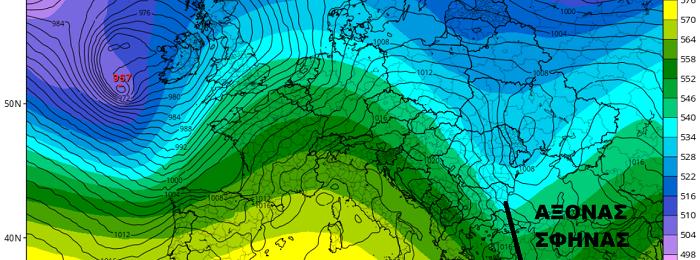 Πιθανότητα τοπικών βροχών προς τα τέλη της εβδομάδας - Σκαμπανεβάσματα θερμοκρασίας