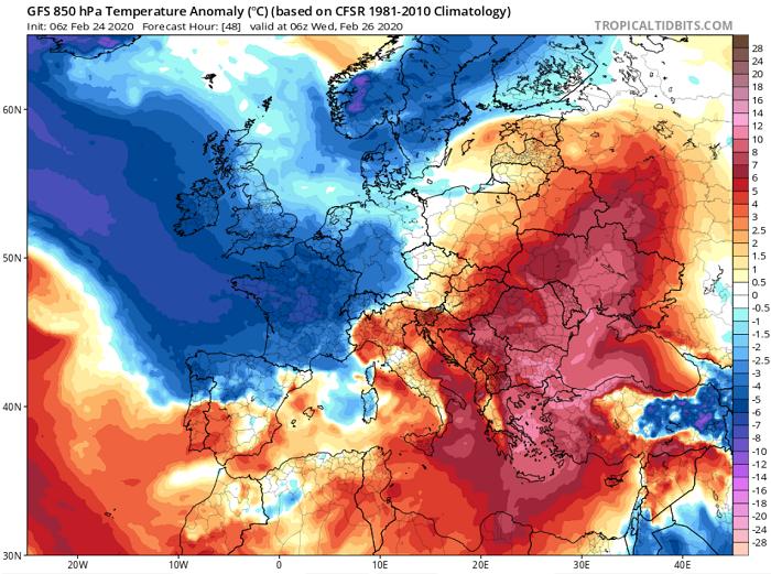 Σε ανοιξιάτικους ρυθμούς ο καιρός τις επόμενες ημέρες - Πώς διαμορφώνεται ο καιρός μέχρι την Καθαρά Δευτέρα