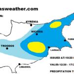 Τοπικές βροχές/καταιγίδες το απόγευμα και απόψε – Υποχωρεί πρόσκαιρα η σκόνη αύριο Σάββατο