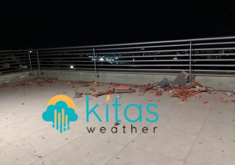 Έκτακτη καιρική ενημέρωση (18:30) -  Oι πρώτες ζημιές από τους πολύ ισχυρούς έως θυελλώδεις ανέμους