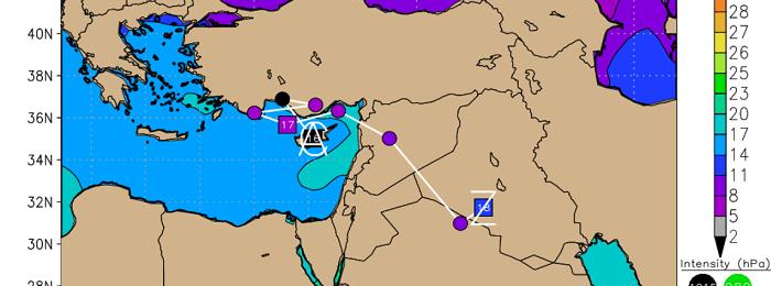 Δύο διαδοχικά χαμηλά θα επηρεάσουν την περιοχή μας - Βροχές, τοπικές καταιγίδες και χιόνια στην πρόγνωση