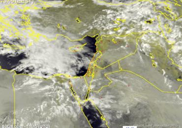 Αυξημένες νεφώσεις, σκόνη και λασποβροχές απόψε - Πιο αξιόλογες βροχές την Κυριακή