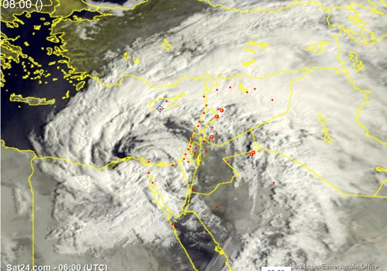 Καιρική ενημέρωση 08:00 - Ιδιαίτερα βροχερή η σημερινή ημέρα, προειδοποιήσεις σε ισχύ