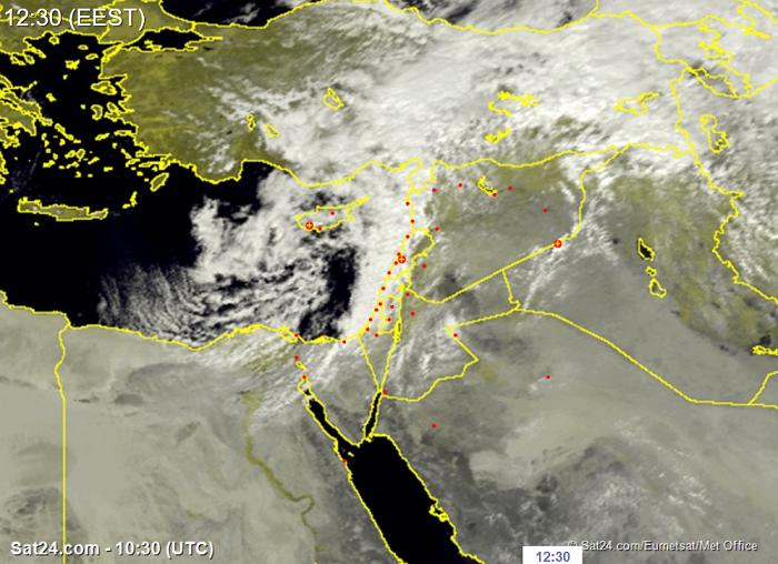 Τοπικές καταιγίδες με χαλάζι το απόγευμα - Συνεχίζει ο άστατος καιρός τις επόμενες ημέρες