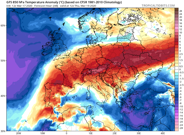 Αυξημένη ηλιοφάνεια αύριο - Αισθητή πτώση της θερμοκρασίας με πυκνές χιονοπτώσεις μεθαύριο
