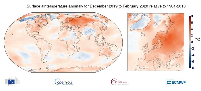 Τον θερμότερο της χειμώνα από το 1850 βίωσε φέτος η Ευρώπη - Πώς επηρεάστηκε η Κύπρος;
