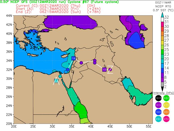 Λασποβροχές και τοπικές ξηρές καταιγίδες το απόγευμα - Σημαντική επιδείνωση του καιρού απόψε
