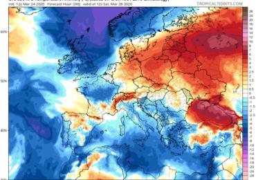 Αύξηση των νεφώσεων, πτώση θερμοκρασίας και διαστήματα με βροχές τέλος της εβδομάδας