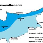 Πιθανότητα μεμονωμένων βροχών το απόγευμα/απόψε – Ακολουθούν ιδιαίτερα θερμές αέριες μάζες