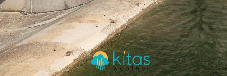 Εικόνες/βίντεο από το σχεδόν γεμάτο φράγμα των Λευκάρων - Μετρήσεις βροχής τελευταίου 24ωρου