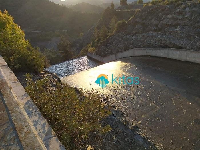 Νέο ρεκόρ συνολικών αποθεμάτων νερού στα φράγματα - Κοντά στο 70% η βροχόπτωση του μήνα