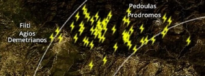 Καιρική ενημέρωση (14:10) - Βροχές και τοπικά έντονες καταιγίδες σε εξέλιξη
