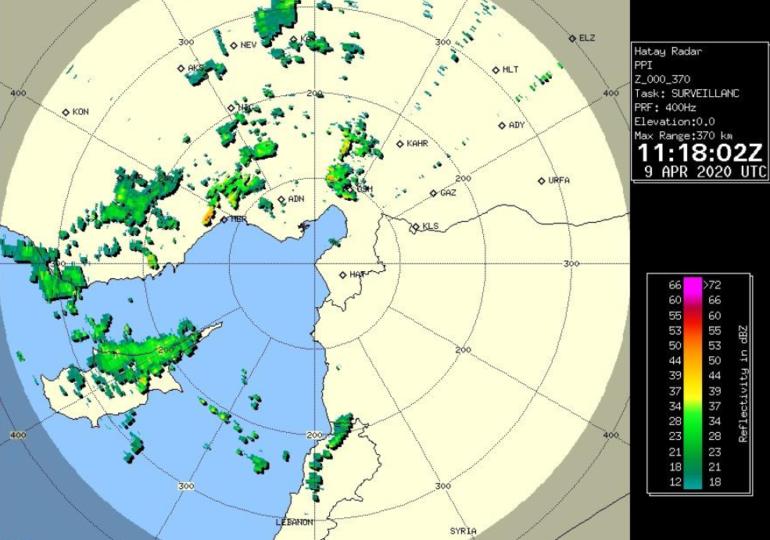 Καιρική ενημέρωση 14:30 - Νέες καταιγίδες θα εκδηλωθούν τις επόμενες ώρες