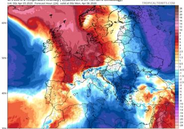 Υποχωρούν οι θερμές αέριες μάζες και σκόνη - Αυξάνονται οι πιθανότητες βροχής τις επόμενες ημέρες