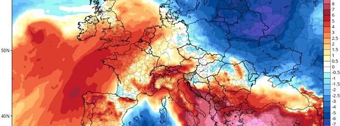 Συνεχίζει ο καύσωνας - Ακολουθεί κατακόρυφη πτώση της θερμοκρασίας και πιθανότητες βροχής