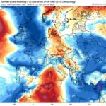 Πρόσκαιρη πτώση θερμοκρασιών και ενίσχυση ανέμων – Ακολουθεί αισθητή άνοδος θερμοκρασίας
