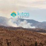 Μεγάλη πυρκαγιά σε εξέλιξη στην περιοχή Ορκόντα – Κατύδατα