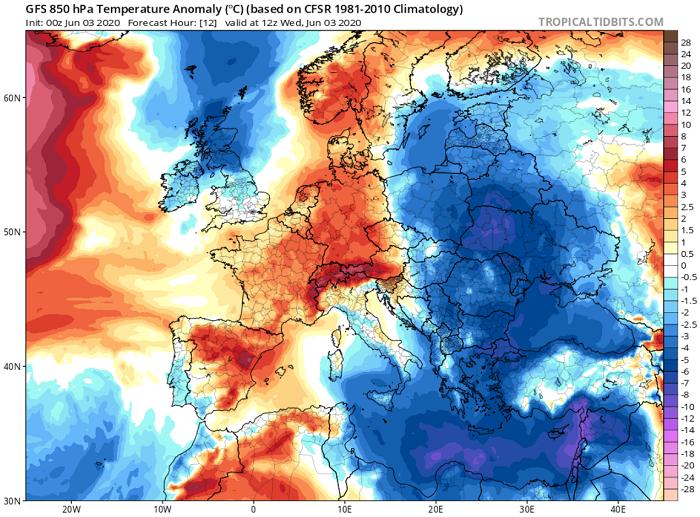Πιθανότητα μεμονωμένων βροχών σήμερα/αύριο - Αισθητή άνοδος θερμοκρασίας από την Παρασκευή