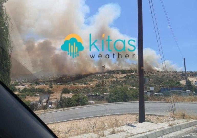 Πυρκαγιά μαίνεται ανεξέλεγκτη στην Μουταγιάκα (Εικόνες/Βίντεο)