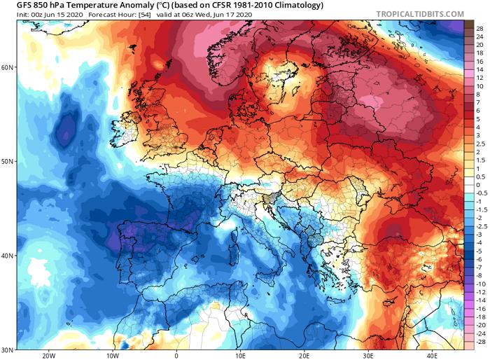 Αισθητή άνοδος της θερμοκρασίας το επόμενο διήμερο - Ακολουθεί ισχυρό και δροσερό δυτικό ρεύμα αέρα