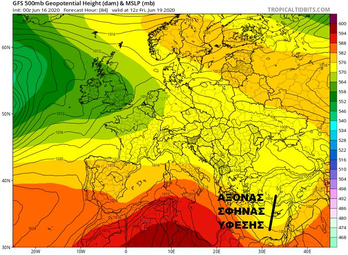 Ισχυροί άνεμοι, πτώση θερμοκρασίας και τοπικές καταιγίδες κατά το 2ο μισό της εβδομάδας