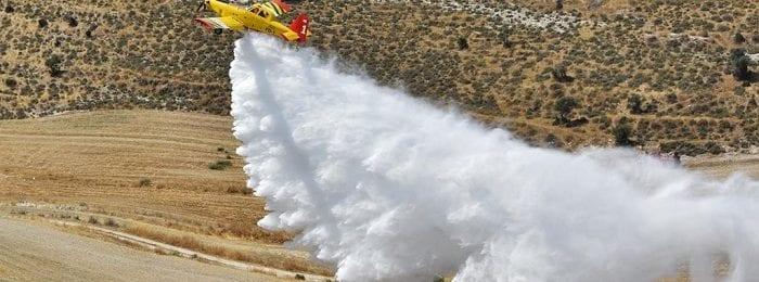 Πυρκαγιά σε εξέλιξη στη Γεράσα Λεμεσού - Επιχειρούν επίγεια και εναέρια μέσα (Εικόνες/Βίντεο)
