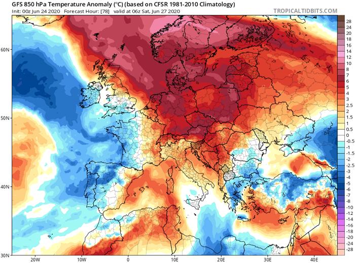Αισθητή άνοδος της θερμοκρασίας και του δείκτη δυσφορίας από αύριο