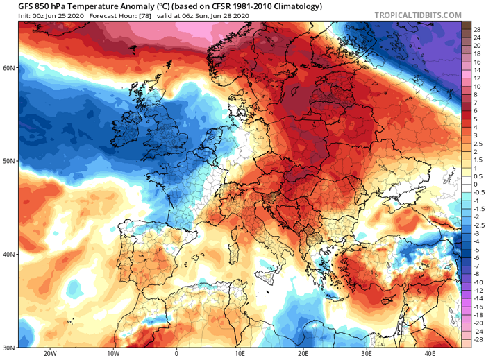 Θερμές αέριες μάζες αρχίζουν να επηρεάζουν την περιοχή μας από την Μέση Ανατολή - Παραμονεύουν 40άρια+