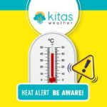 Νέα κίτρινη προειδοποίηση υψηλών θερμοκρασιών από Kitasweather για σήμερα Παρασκευή (3/7)