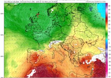 Συνεχίζει ο ιδιαίτερα θερμός καιρός - Αυξάνεται η υγρασία τις επόμενες ημέρες