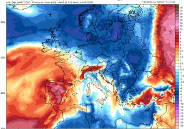 Πρόσκαιρη πτώση θερμοκρασίας και ενίσχυση ανέμων - Επανέρχονται τα 40άρια
